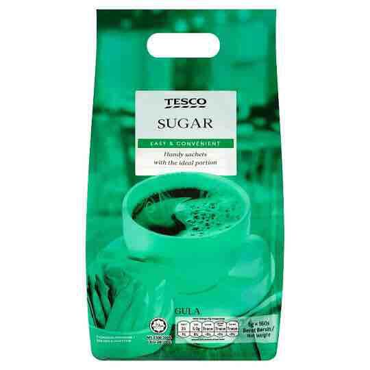 Tesco Sugar 160s x 5g