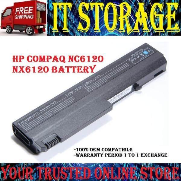 [ FREE SHIPPING ] Laptop Battery HP NX6100 NX6105 NX6110 / PB994 PB994A PB994ET PQ457AV EQ441AV 6510b 6515b 6710b 6710s 6715b 6715s 6910p nc6100 nc6105 nc6110 nc6115 nc6120 nc6140 nc6200 nc6220 nc6230 nc6300 nc6320 nc6400 nx5100 Malaysia