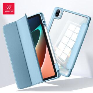 Xiaomi Mi Pad Ốp 5 Pro, Xundd Nắp Gập Máy Tính Bảng Bao Da Túi Khí Vỏ Chống Sốc Dành Cho Mi Pad 5 Pro thumbnail