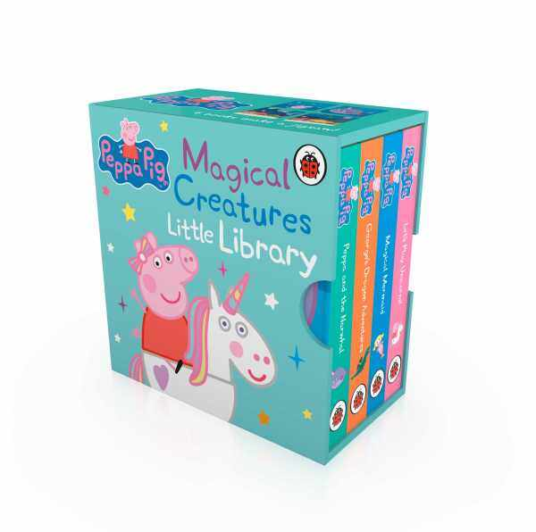 Peppa Pig Magical Creatures Little Library (Palm-Sized Book for Toddler) Malaysia