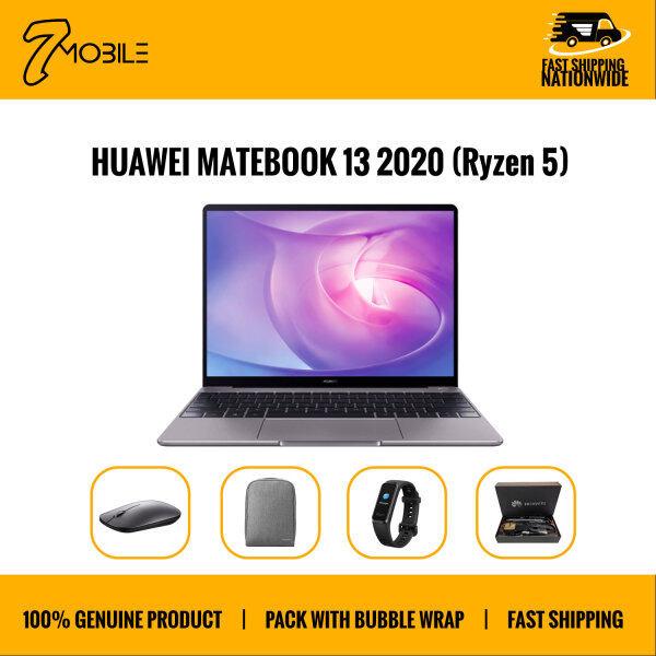 Huawei Matebook 13 R5 2020 [AMD Ryzen™ 5 3500U / 16GB RAM / 512GB SSD) Original 2 Year Huawei Malaysia Malaysia