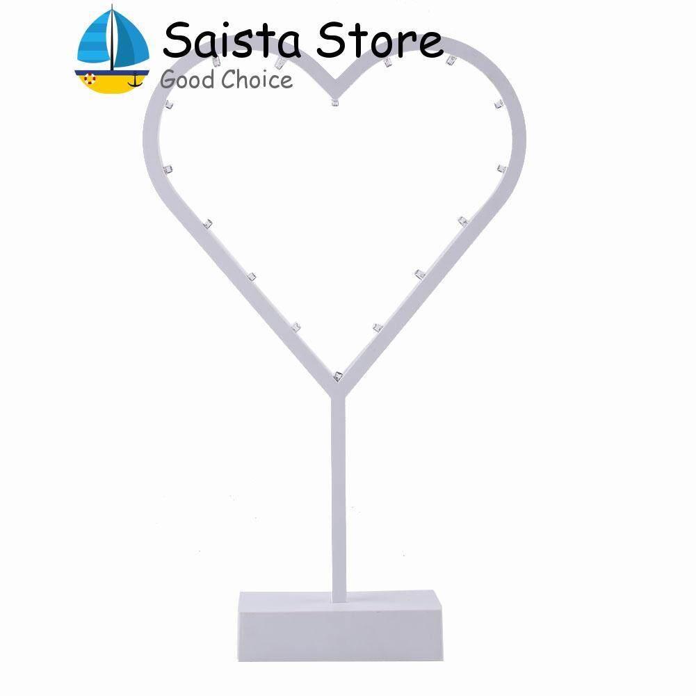 LED Desk Night Light Christmas Tree Love Heart Star Shape Home Decoration