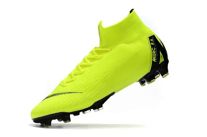 High Ankle Football Boots Superfly Original Fly Knit 360 Elite FG Men s Soccer  Shoes VI 12 e28df8e53b5
