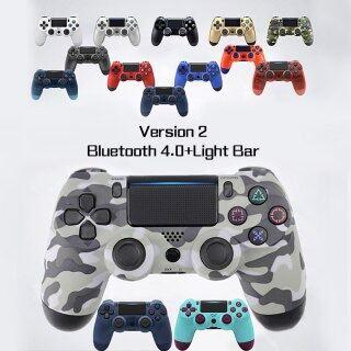 Tay Cầm Chơi Game Sony PS4 Bluetooth Không Dây Tay Cầm Chơi Game, Bluetooth Rung Cho Playstation 4 Detroit Tay Cầm Không Dây thumbnail
