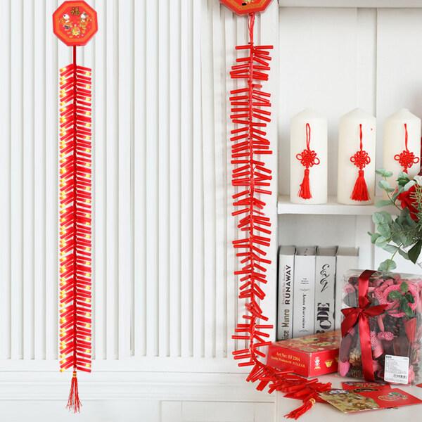 Bảng giá Đèn Dây LED Âm Thanh Đèn Pháo Hoa Điện Tử Trung Quốc 92LED 1.35M Trang Trí Treo Năm Mới