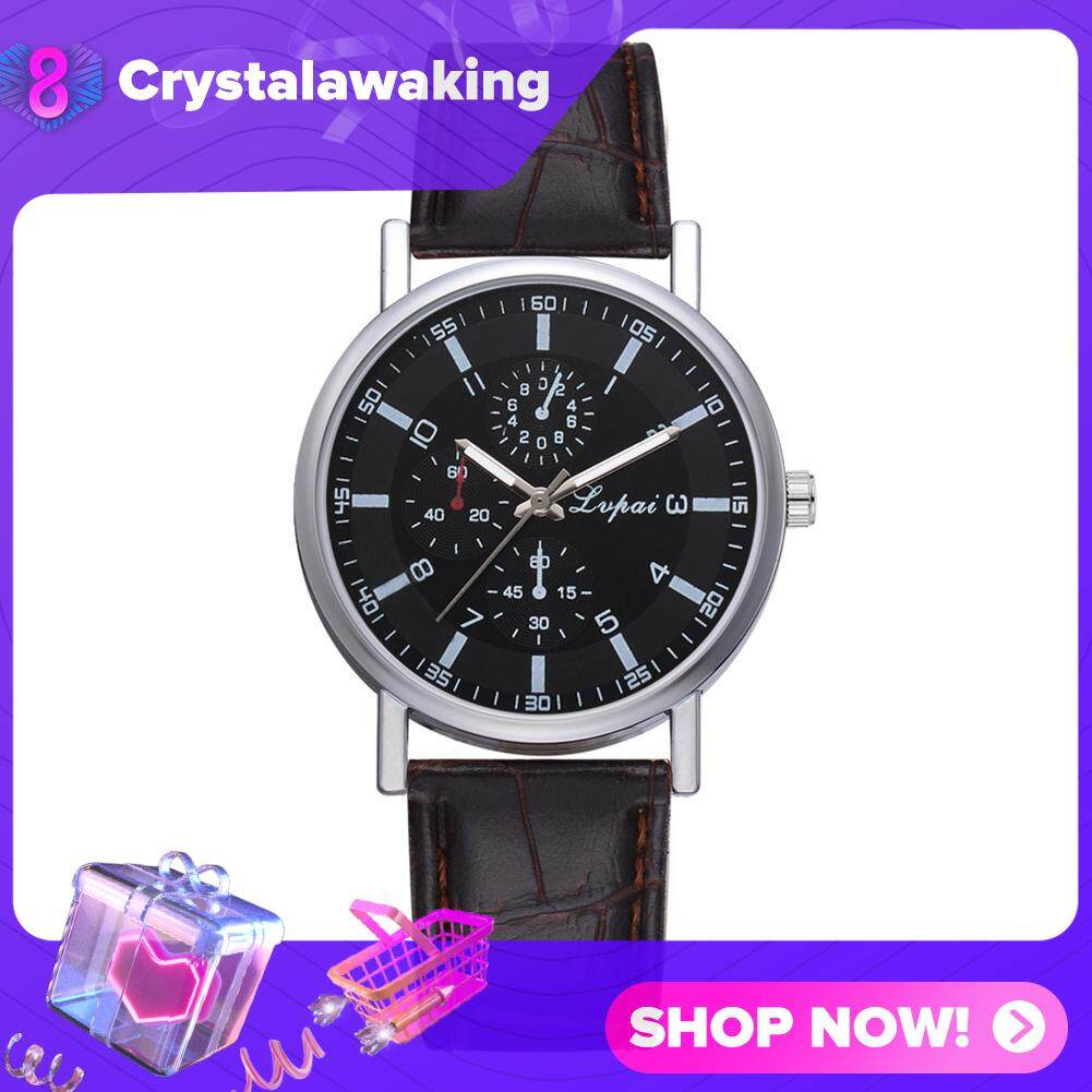 【Crystalawaking】(Fast Delivery In 3 Days,Enjoy Free Shipping) WomenCaua Candy Cooreather Bet tudent Watch Malaysia