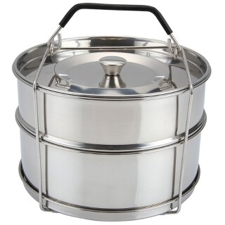 Stackable Stainless Steel Pot-304 Stainless Steel Steam Grid Pressure Cooker Steamer Pressure Cooker Accessories thumbnail