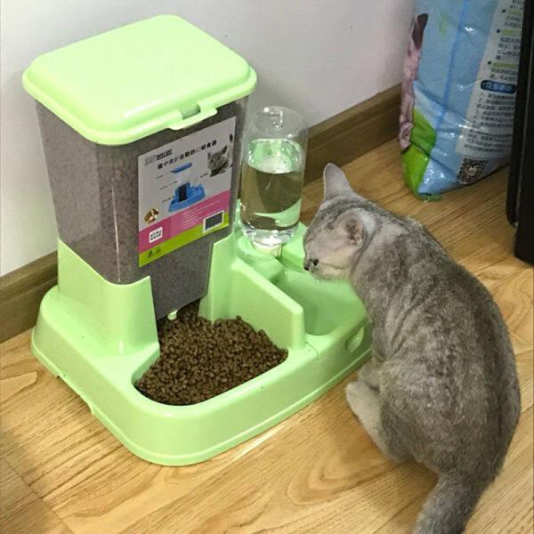 Bát Đựng Thức Ăn Cho Mèo, Bát Đựng Nước Tự Động Cho Chó Uống Nước Tự Động Bát Đôi Bát Đựng Thức Ăn Cho Mèo Bát Đựng Thức Ăn Cho Mèo 80%