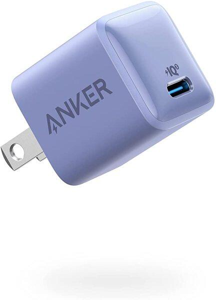 Anker Sạc Nano 20W PIQ 3.0 Sạc Nhanh Nhỏ Gọn Bền, Sạc PowerPort III Cho iPhone 12/12 Mini/12 Pro/Max/11,Galaxy, iPad Pro