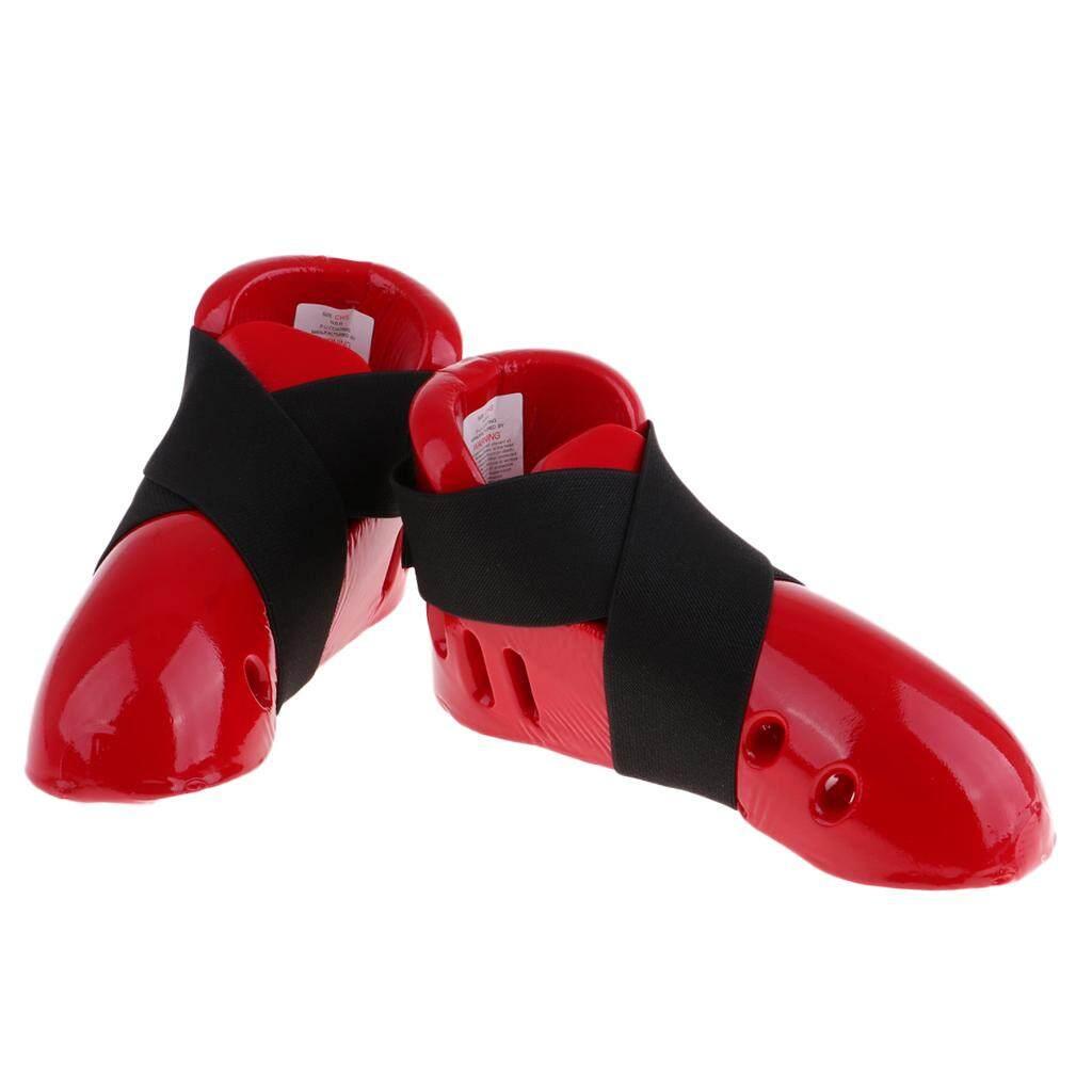 Giá Cực Tốt Để Sắm Tongina Thoáng Khí Taekwondo Karate MMA Chân Bảo Vệ Mu Bàn Chân Bảo Vệ Đá Miếng Lót Bánh Răng Bảo Vệ Giày Cho Bé Trai Bé Gái