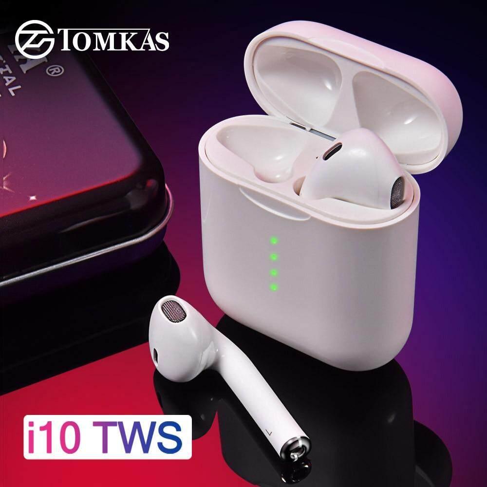 5e3a7e2a492 I10 TWS auricular Bluetooth 3D Bass auriculares inalámbricos 5,0 Bluetooth  inalámbrico Auriculares auriculares de
