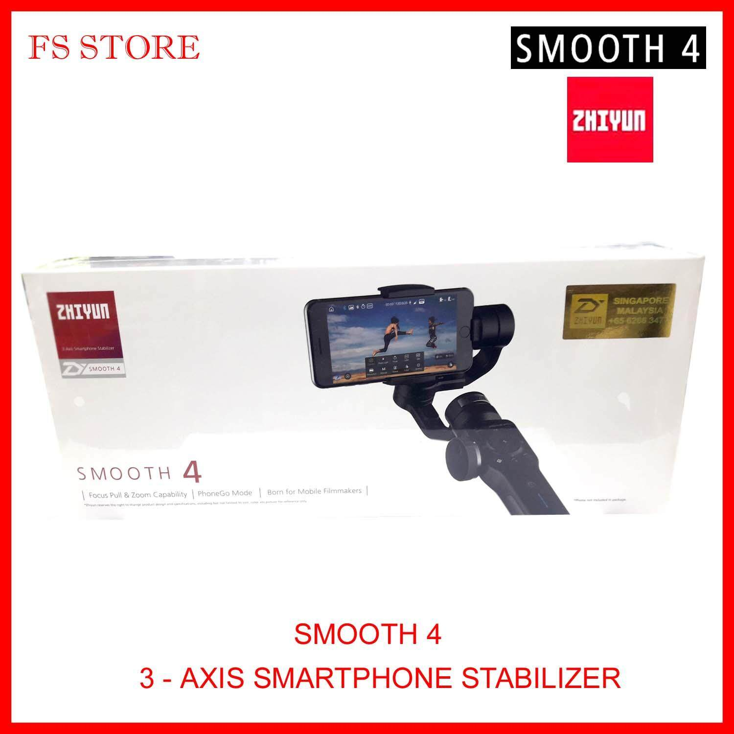 Zhiyun Camera Accessories Price In Malaysia Best Tech Smooth Ii 3 Axis Handheld Gimbal Stabilizer For Smartphones 4 Smartphone