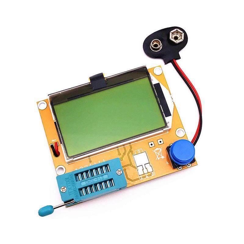Mega328 LCR-T4 12846 MÀN HÌNH LCD Kỹ Thuật Số Transistor Bút Thử Module Đo MOS/PNP/NPN