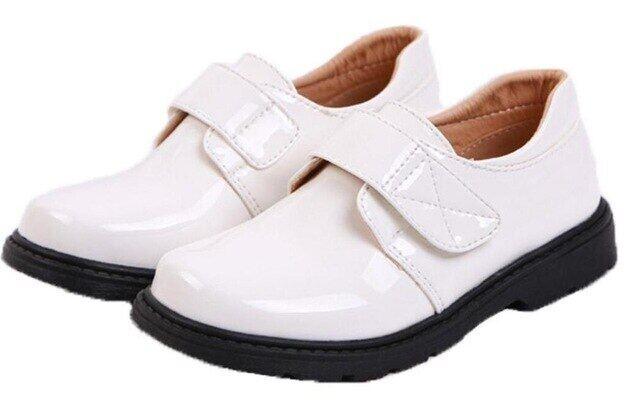 Giày Da Bóng Trang Trọng Cho Bé Trai Và Bé Trai Họa Tiết Hoa Giày Biểu Diễn Sân Khấu Cho Học Sinh Nam 6 8 10 14 16 18 Năm Mới