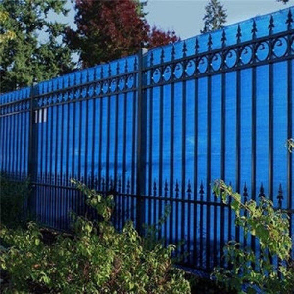 3ft Height Privacy Screen Fence Screen Wind Screen for Balcony Backyard Deck Patio Fence Porch Blue