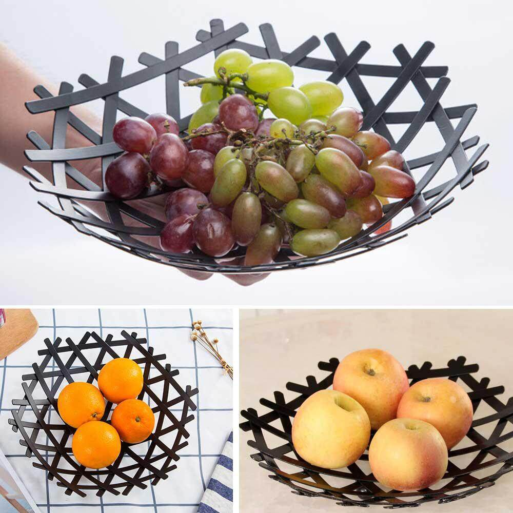 efuture New ins air filter fruit plate, living room dining room kitchen storage tray(L)