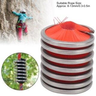 Bàn Chải Vệ Sinh Dây Ngoài Trời, Leo Núi Dây Nylon Sạch Hơn Dây Công Cụ Rửa, Màu Đỏ thumbnail