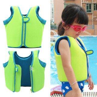 Áo Phao Cho Bé Bơi Chuyên Nghiệp Cho Trẻ Em, Áo Phao PVC Phao Bơm Hơi Bơi Lặn Ống Thở Cho Trẻ Em thumbnail