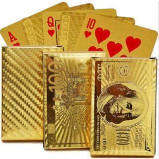 Bộ Bài Tây Mạ Vàng Hình Dolar, Euro [Thao2] Dũng thumbnail