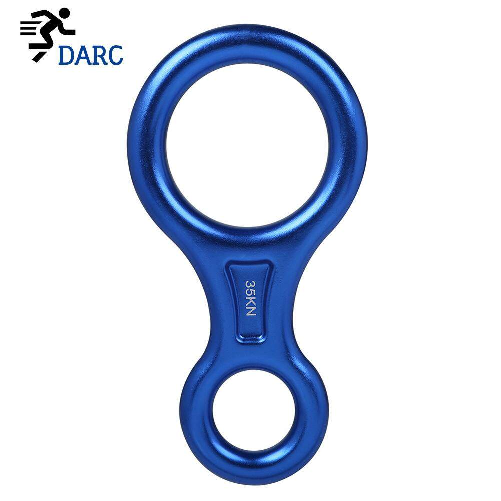 Climbing Rope Rescue Descender 8 Word Ring Downhill Equipment Outdoor High Altitude Descending Device