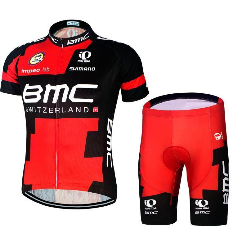 b8601e730c9e3 2 Pcs BMC Long sleeve Short sleeve Summer Cycling Jerseys Men's Cycling  Wear Bike Jersey Team