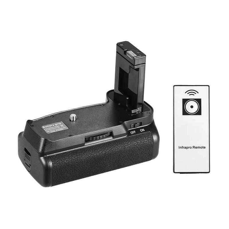 Vertical Battery Grip Holder for Nikon D5300 D3300 D3200 D3100 Dslr Camera En-El 14 Battery Powered with Ir Remote Control