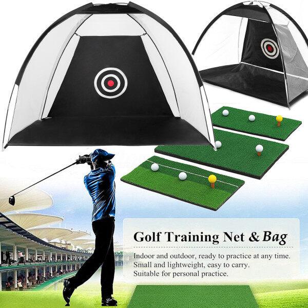 Lưới Đánh Golf 10X6.5X6, Hỗ Trợ Đào Tạo Lồng Lưới Luyện Tập Đánh, Với Khu Vực Mục Tiêu, Sử Dụng Trong Nhà Cho Phạm Vi Lái Xe Sân Sau