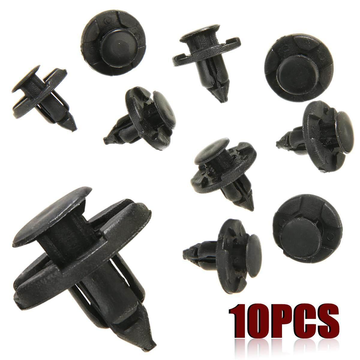 10x Plastic Bumper Trim Clip 8mm For Nissan Micra Almera Xtrail Juke By Kvpfhli.