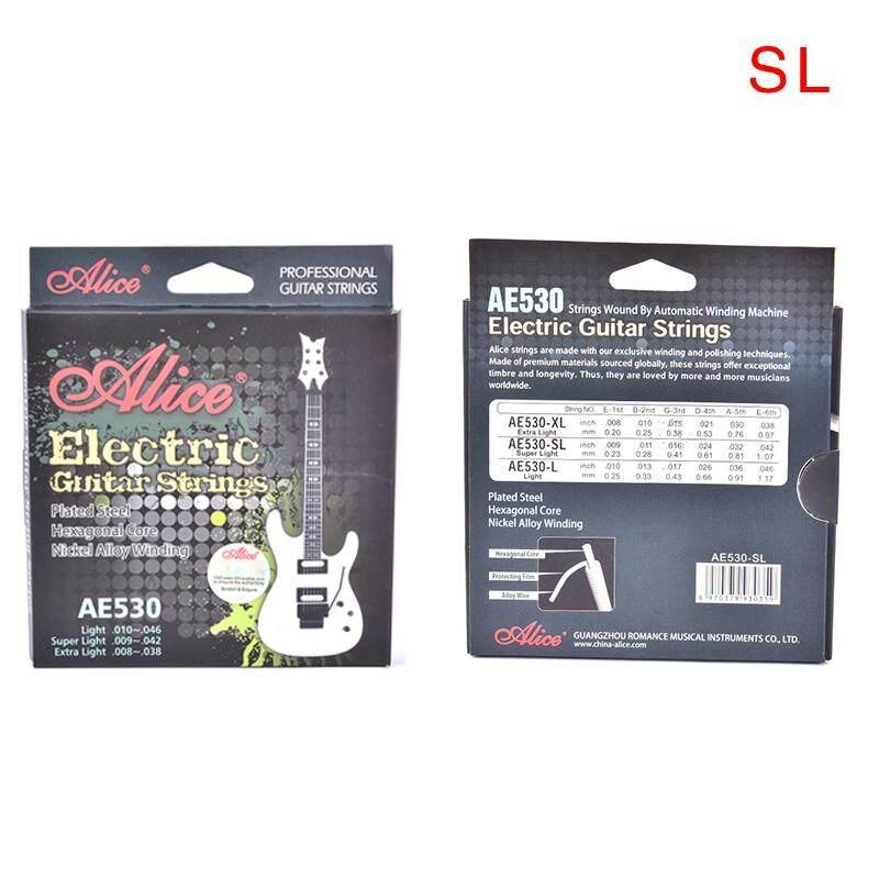 Mimar Upup AE530 Dây Đàn Guitar Điện 1st-6th Hợp Kim Niken Full Bộ Lục Giác Core AE530L