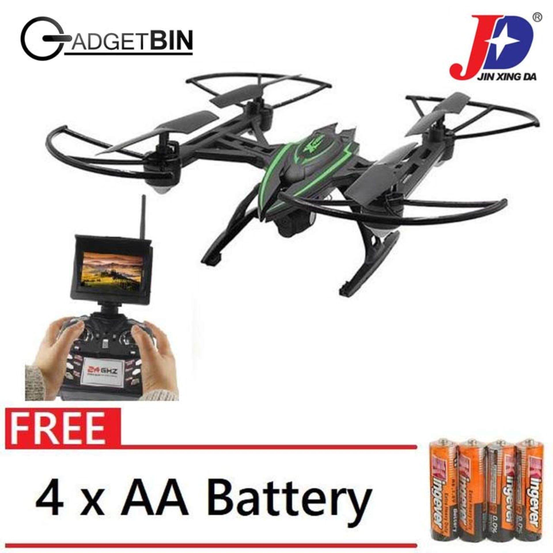 Jxd 509g Rc Quadcopter 5.8g Real-time Fpv 0.92mp Headless Mode With Light Sale Price Toys & Hobbies Other Rc Model Vehicles & Kits