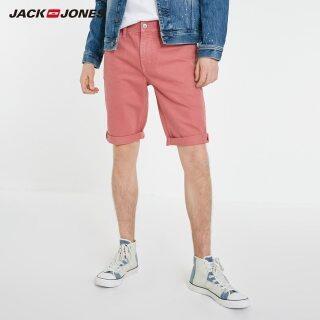 JackJones Quần Đùi Denim Rách Phong Cách Màu Hồng 100% Cotton Cho Nam 219143505 thumbnail