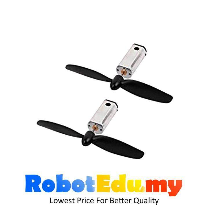 3.7v N50 40000rpm Drone Motor with CW/CCW RC Propeller (2pcs)