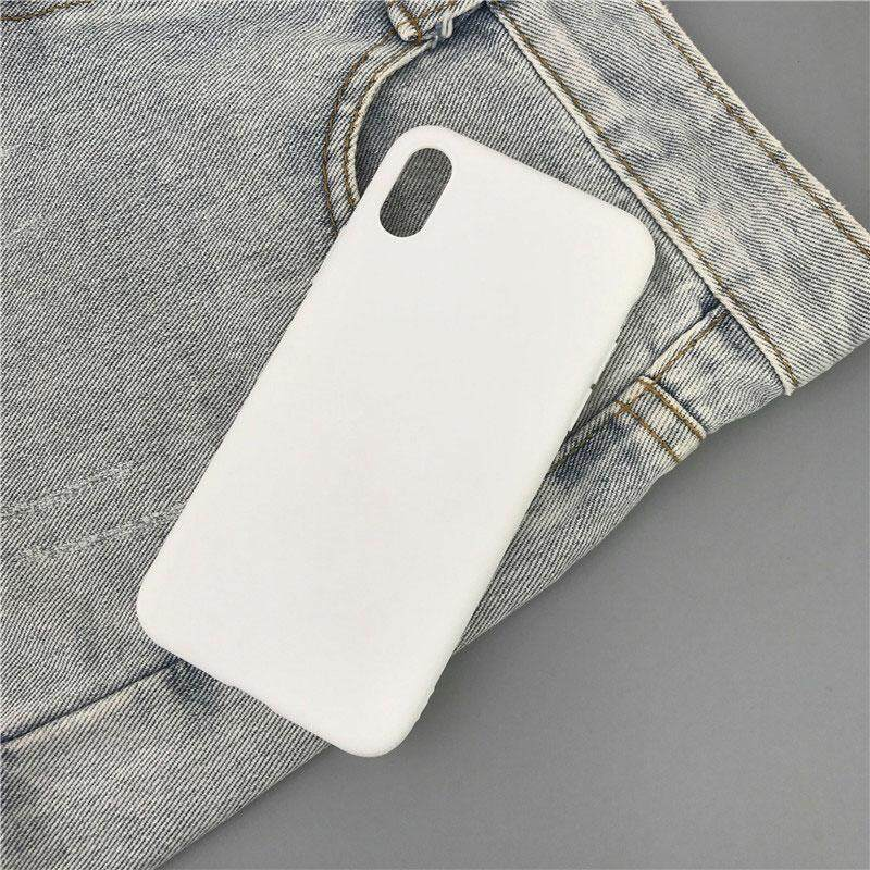 Macarons Color Soft TPU Case for iPhone 6 6s Simple Solid Color Back Frosted Matte Case