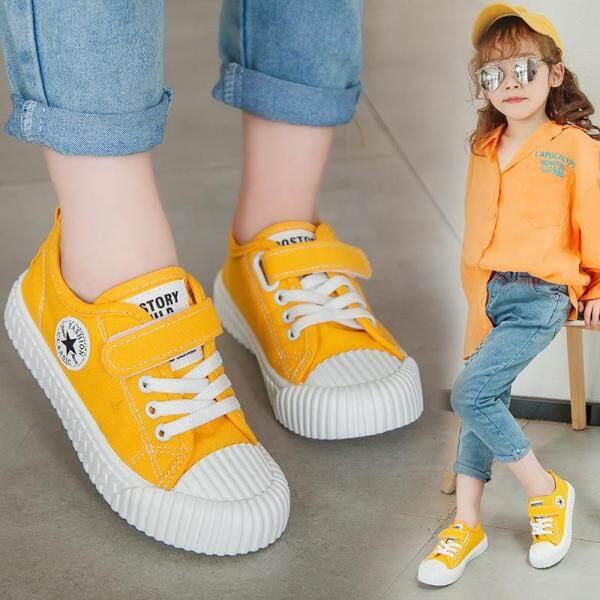 Giá bán Giày Vải Thể Thao Cho Bé Gái Giày Sneaker Trẻ Em Thường Ngày