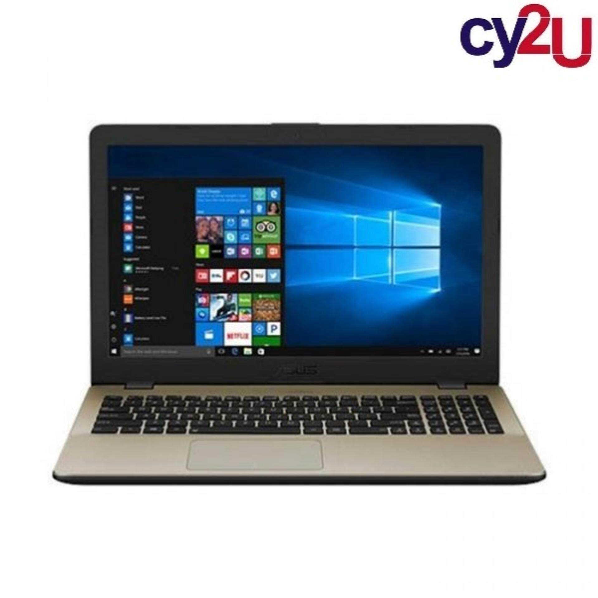 Asus Vivobook X505B-ABR346T 15.6 Laptop - Gold (AMD A6-9225, 4GB RAM, 500GB HDD, AMD Radeon R4, Win10) + Asus Backpack Malaysia