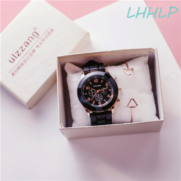[Free Bracelet&Watch Box]Ulzzang Cute Candy Color Strap Watch For Women Fashion Casual Jelly Ladies Student Girl Quartz Wristwatch Malaysia