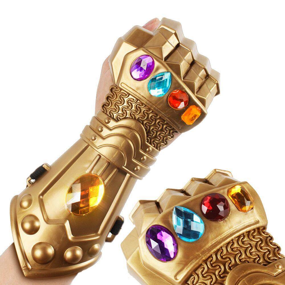 Mã Khuyến Mãi 〔questionno〕Thanos Infinity Gauntlet Avengers Superhero Gloves Halloween Party Props(READY STOCK & COD & LOW PRICE & HIGH QUALITY)