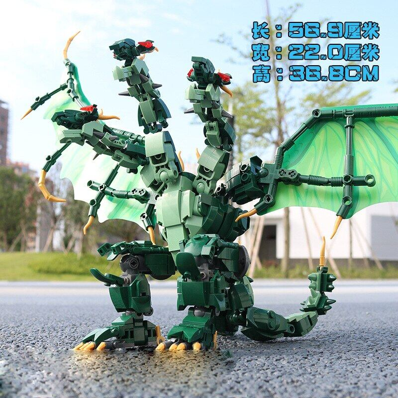 The king of the 0785 Godzilla.-Godzilla assembled building block toy for childr