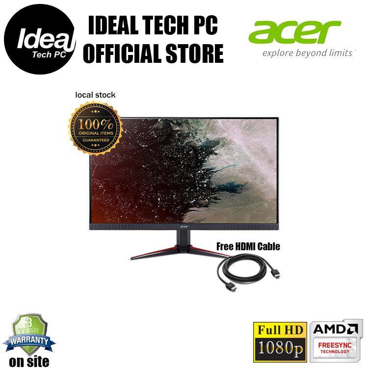 ACER NITRO VG270 27 IPS 1MS 75HZ FHD AMD FREESYNC GAMING MONITOR - VG270YBMIIZ Malaysia