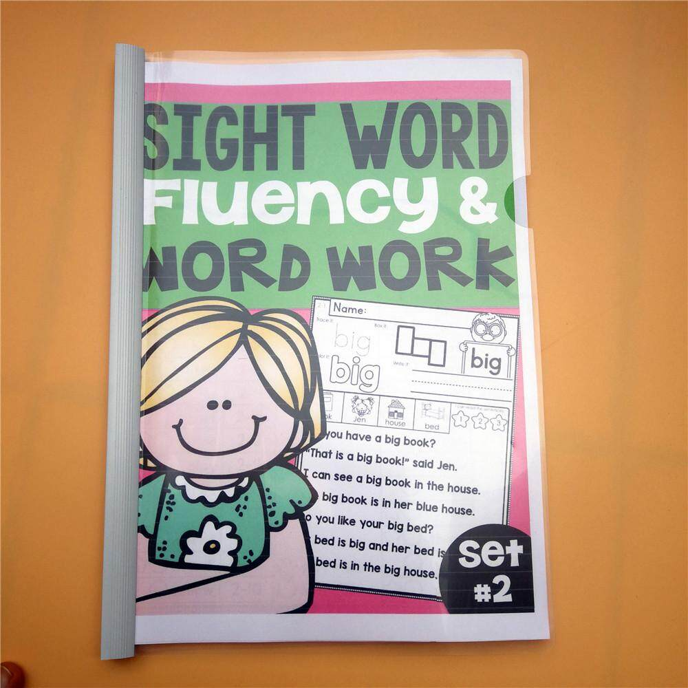 Sight Words Fluency And Word Work Activity Interactive Worksheet Book Word Word Practice Early Learning Educational Kids Games For Children Kids By La Chilly.