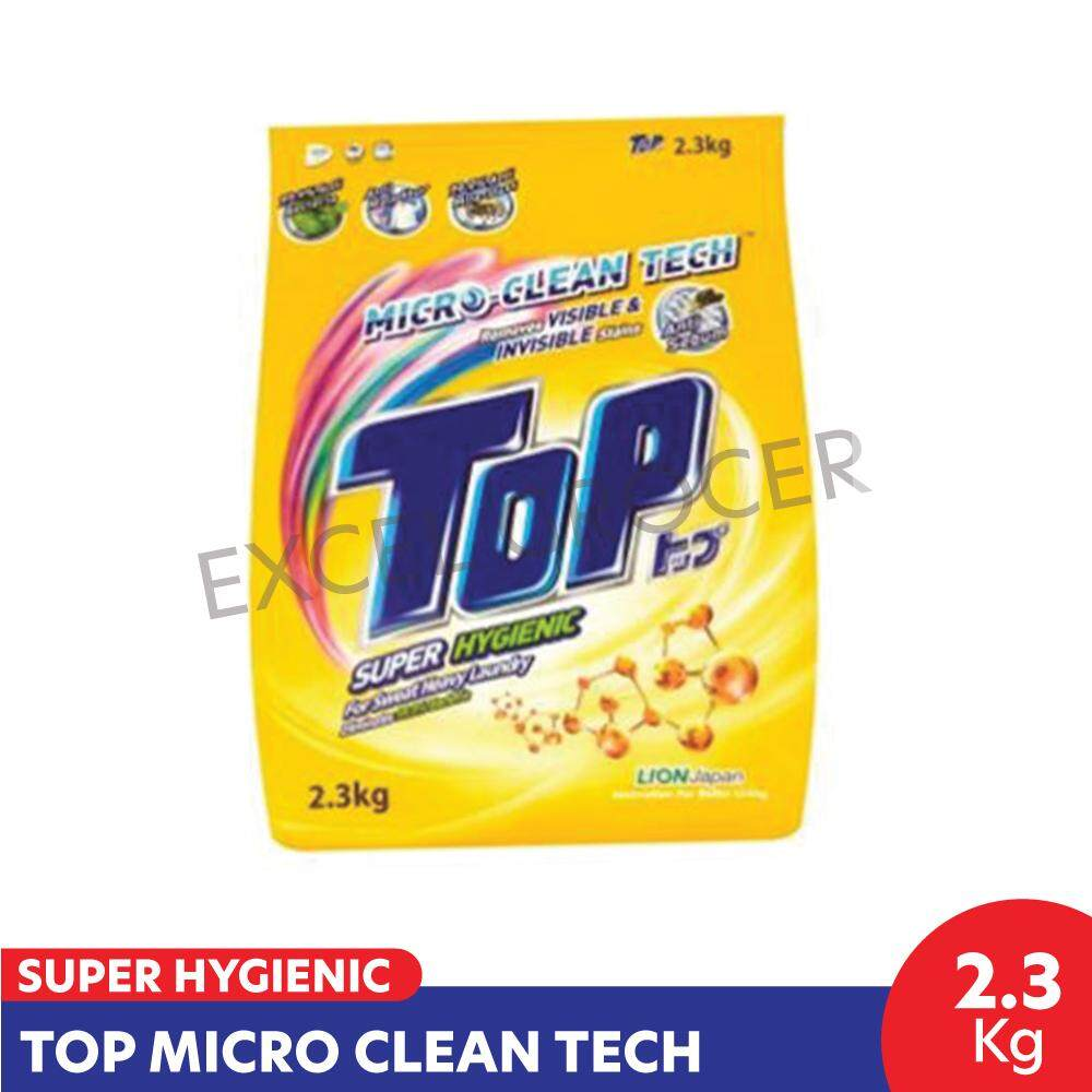 Top Super Hygienic Powder 2.3kg (Yellow)