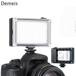 Hàng Có Sẵn demeis Đèn LED Video Có Thể Sạc Lại, Đèn Đèn Lấp Đầy Tiệc Cưới Chụp Ảnh Studio, Dành Cho Máy Ảnh DSLR thumbnail