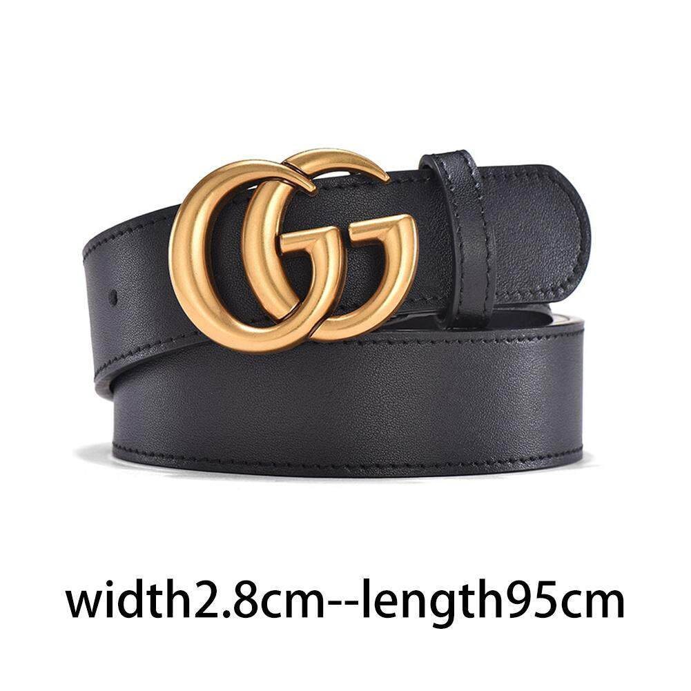 4863a8027a0f RYT GG buckle belt fashion retro men and women couple belt width 2.8cm 3.5