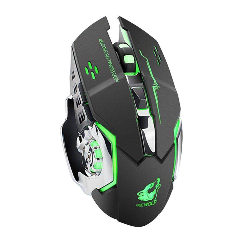 Best Discount Wireless Fashion Colorful Backlight Light Gaming Mouse For Laptop PC Computer Malaysia