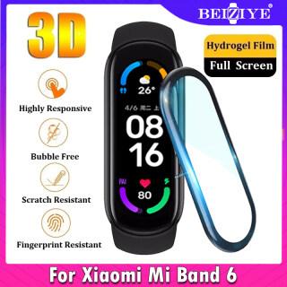 Viền cong 3D Bao phủ toàn bộ Miband Soft Clear Film Cover cho Xiaomi Mi Band 6 Bảo vệ màn hình (Không phải bằng kính) thumbnail