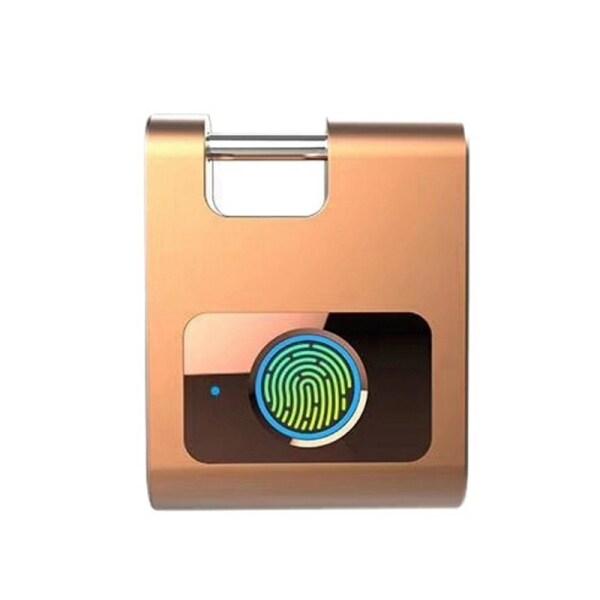 Smart Fingerprint Padlock Bluetooth APP Control Lock for Gym, Sports, Bike, School, Cabinet and Storage