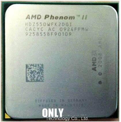 AMD Phenom II X2 550 CPU 3.1GHz Socket AM3 938-pin Processor 80W Dual-Core 1M Desktop CPU XT Store