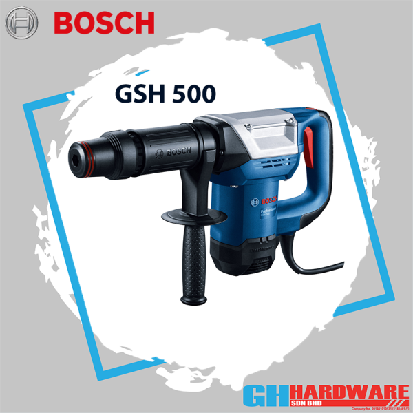 BOSCH GSH 500 Demolition hammer / Breaker with Hex