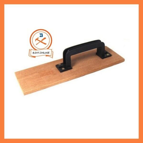 Wood plaster Cement Trowel Square/WOOD TROWEL W/PVC HANDLE(MERSAWA) 3/8inch X 12inch