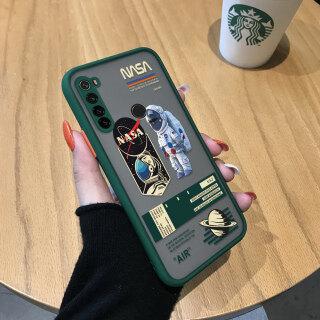Ốp Honinga Cho Xiaomi Redmi Note 8 Ốp Lưng Ốp Lưng Toàn Bộ Trong Suốt Phủ Mờ Phi Hành Gia NASA Sáng Tạo Máy Ảnh Ốp Bảo Vệ Ốp Điện Thoại Ốp Cứng Cho Nam Dành Cho Bé Trai thumbnail